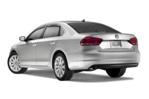Volkswagen Passat rear lip spoiler