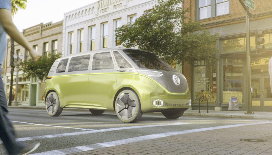 Volkswagen I.D. Buzz concept microbus