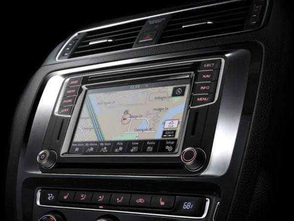 VW Jetta Navigation center
