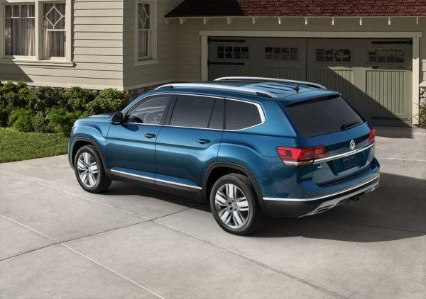Blue 2018 VW Atlas