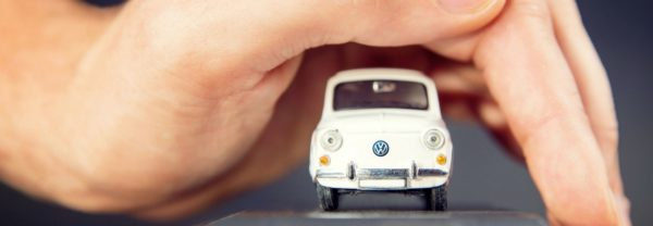 A small VW model featured in a blog about the Volkswagen Certified Pre-Owned Program